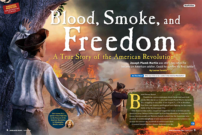 Blood, Smoke, and Freedom - Narrative Nonfiction