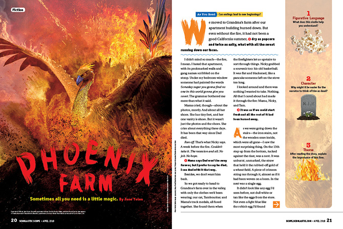Phoenix Farm - Reading Passage Grade 6, 7, 8 | Scholastic