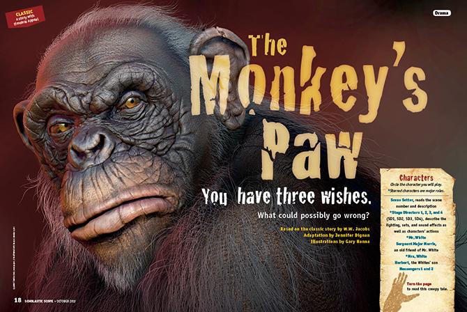 The Monkey's Paw - Reading Fluency | Scholastic Scope Magazine