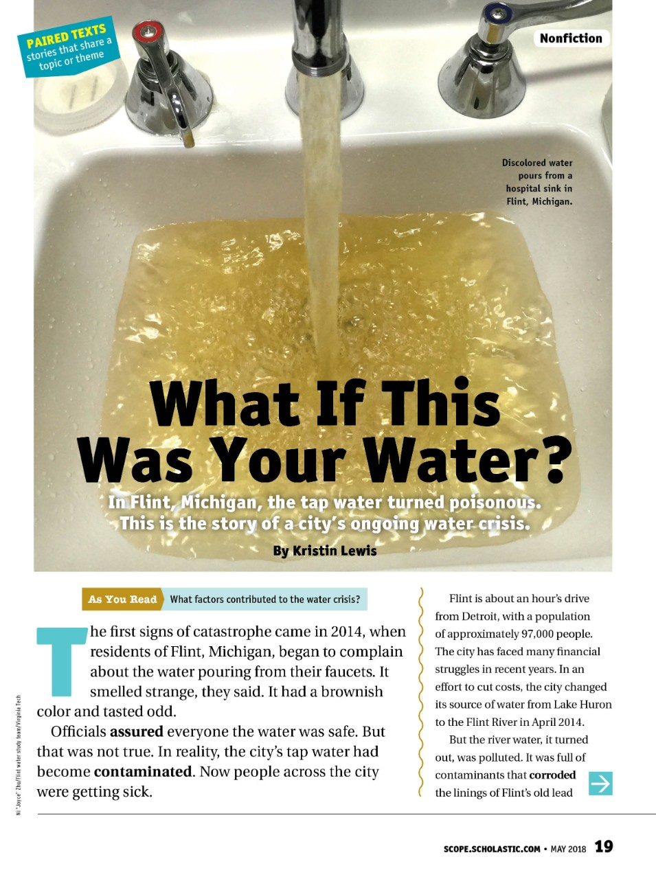 Flint Educator Our Water Crisis Is >> 4 Engaging Resources To Learn More About The Flint Water Crisis